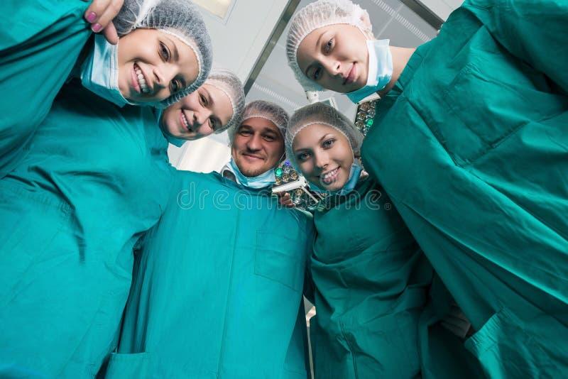 Gruppo del chirurgo immagine stock
