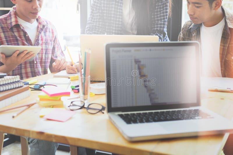 Gruppo del grafico, gruppo di studenti, riunione del gruppo di affari fotografia stock libera da diritti