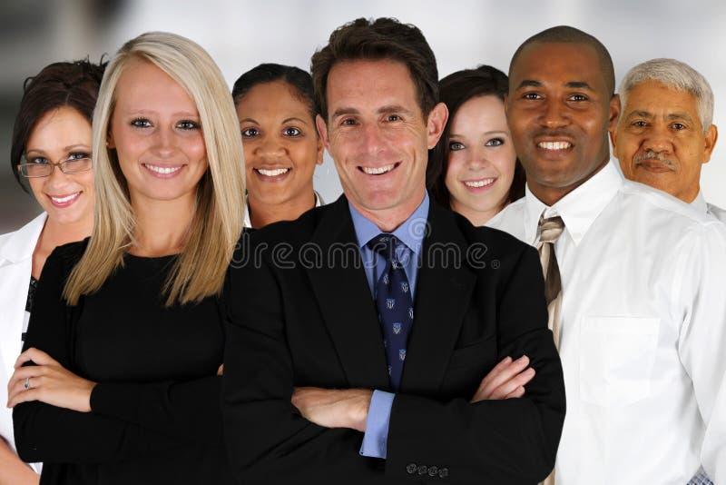 Gruppo di affari fotografia stock