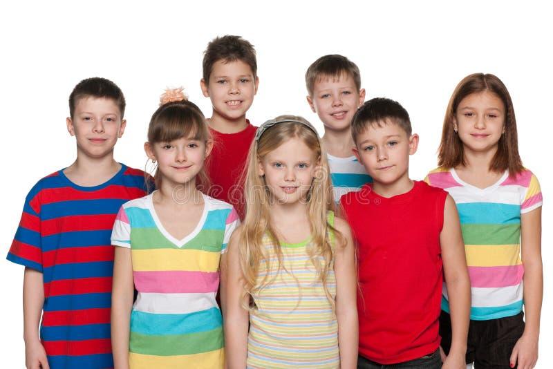 Gruppo di bambini immagini stock