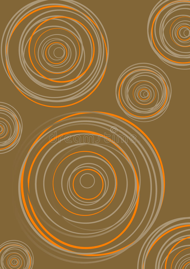 Gruppo di cerchi. vettore illustrazione vettoriale