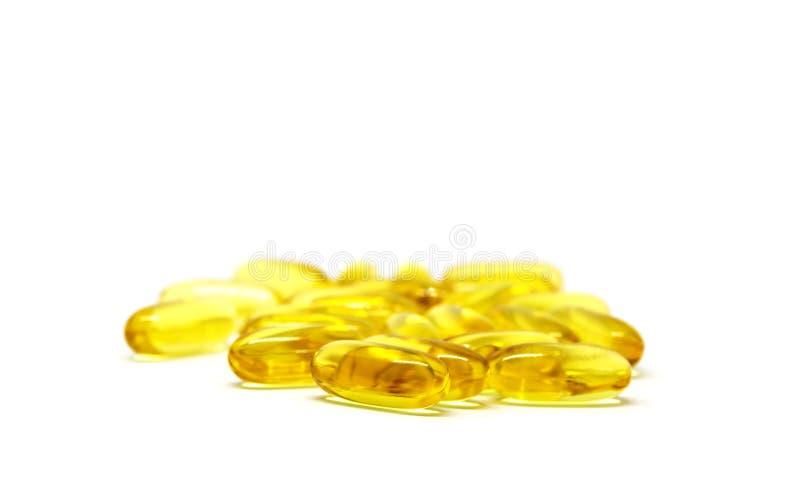 Gruppo di compresse di vitamine fotografia stock
