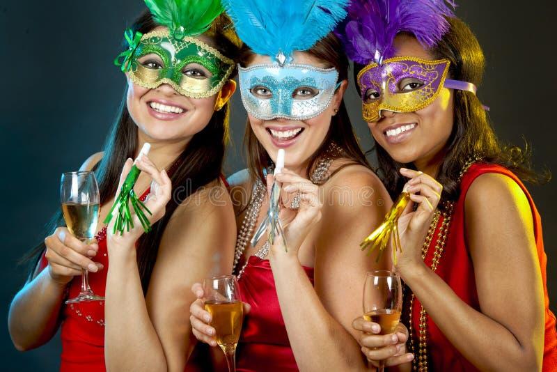 Gruppo di fare festa delle donne immagini stock libere da diritti