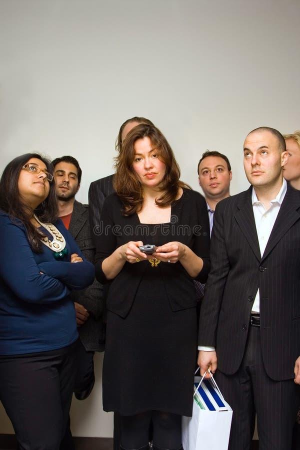 Gruppo di gente di affari fotografie stock libere da diritti