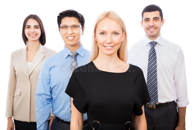 Gruppo di gente di affari immagine stock