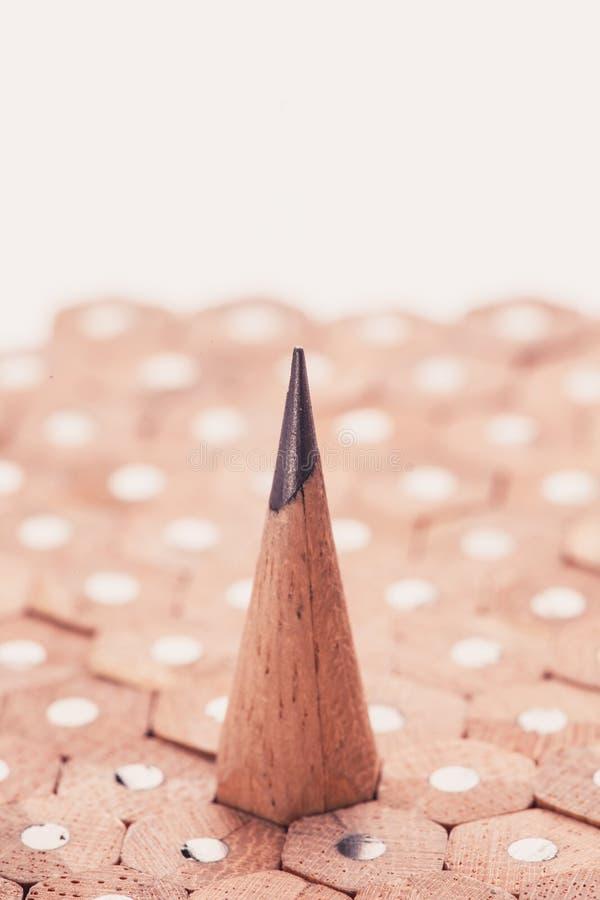 Gruppo di matite fotografie stock