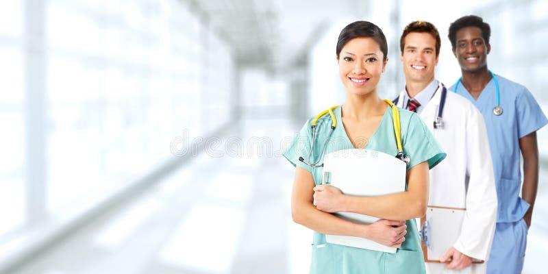 Gruppo di medici fotografia stock