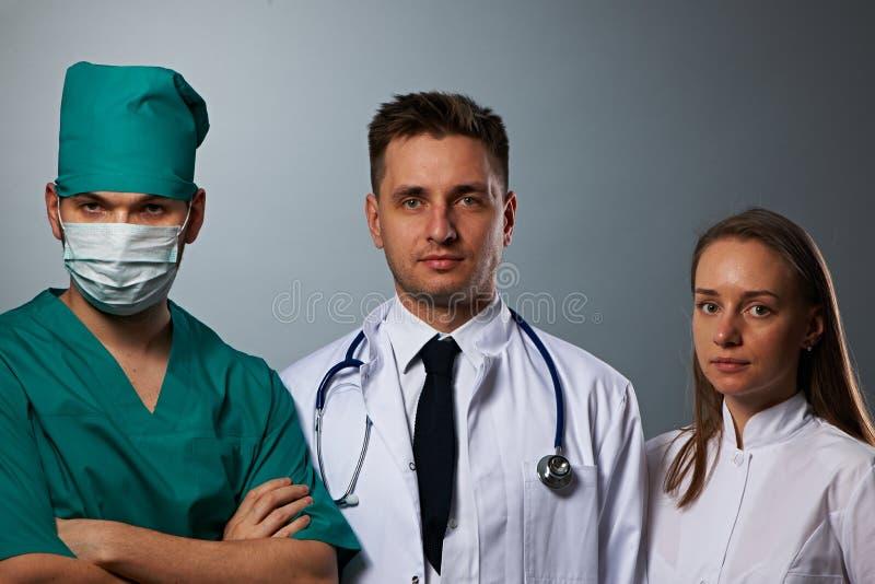 Gruppo di medici di medici immagini stock