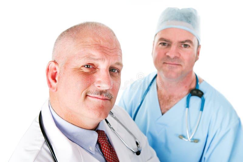 Gruppo di medici di medici fotografia stock libera da diritti