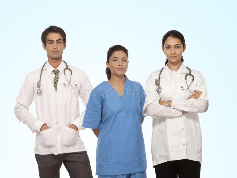 Gruppo di medico fotografia stock