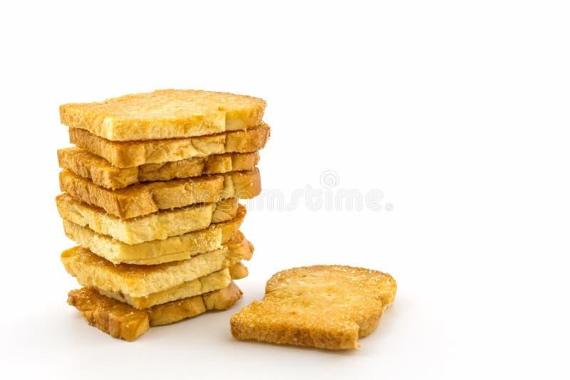 Gruppo di pane affettato fotografie stock