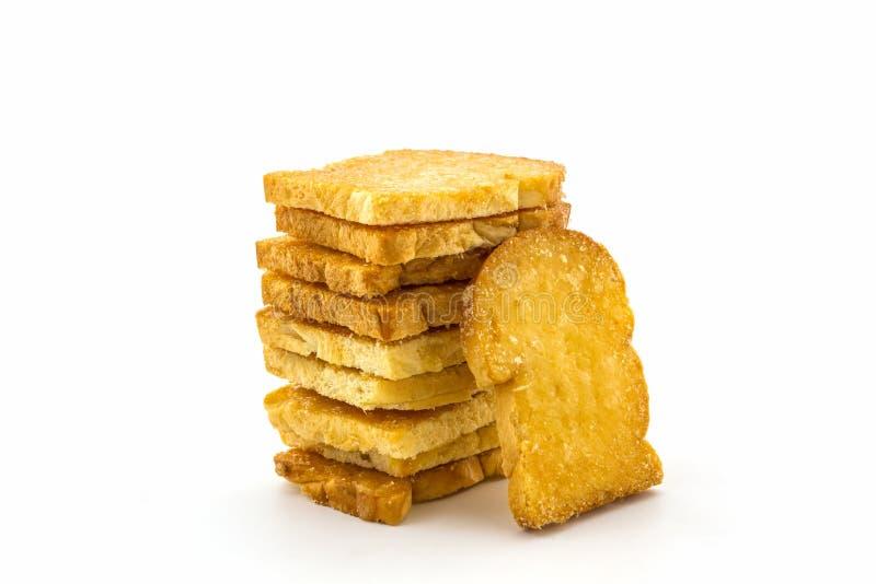 Gruppo di pane affettato fotografia stock