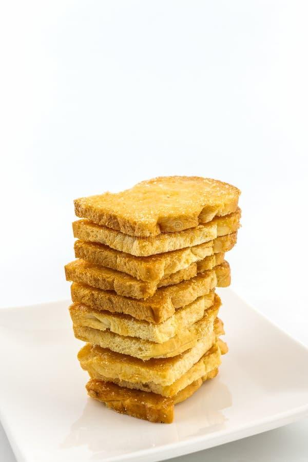 Gruppo di pane affettato fotografie stock libere da diritti