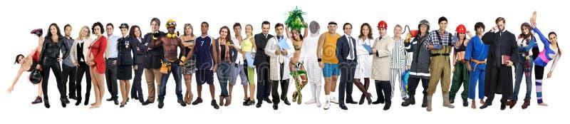 Gruppo di persone fotografia stock