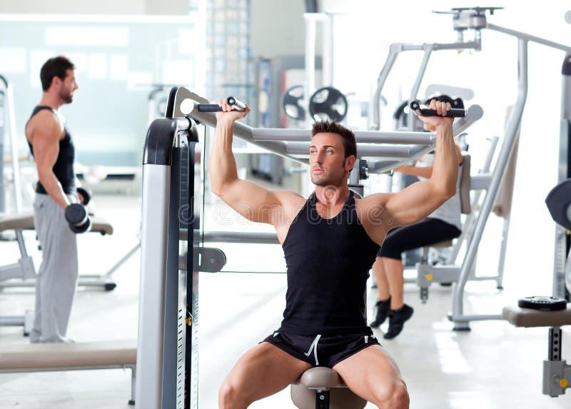 Gruppo di persone di ginnastica di sport di forma fisica addestramento fotografie stock