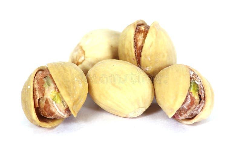 Gruppo di pistacchio fotografie stock libere da diritti