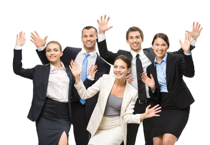 Gruppo di quadri felici immagine stock libera da diritti