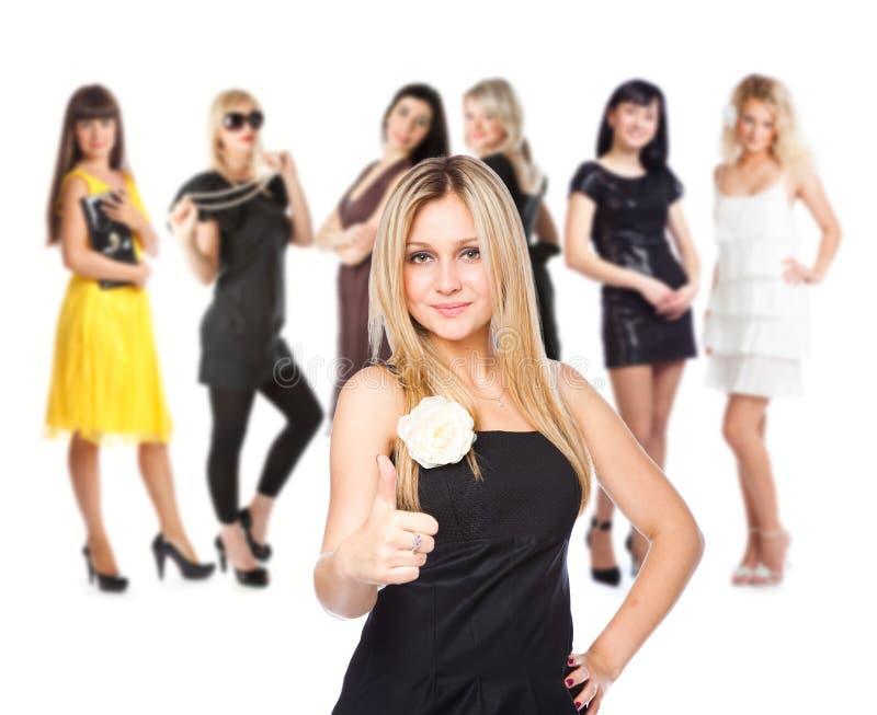 Gruppo di ragazze immagine stock libera da diritti