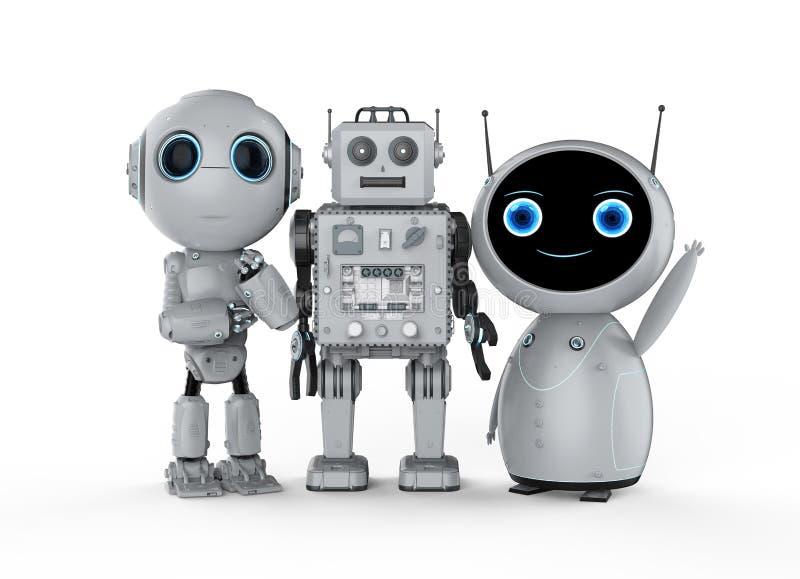Gruppo di robot
