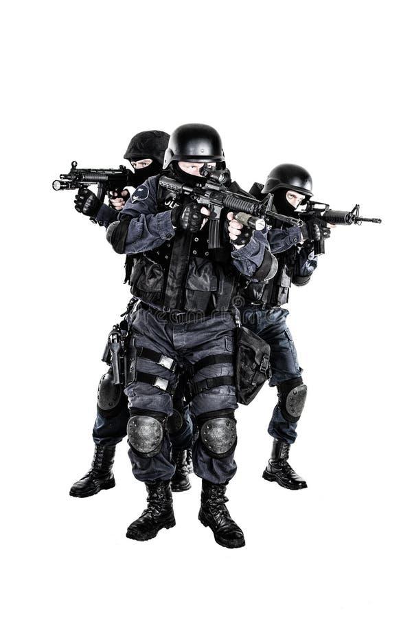 Gruppo di SCHIAFFO nell'azione immagini stock libere da diritti