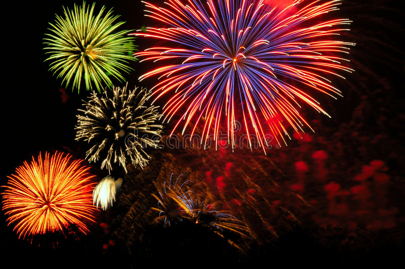 Gruppo di terminali dei fuochi d artificio