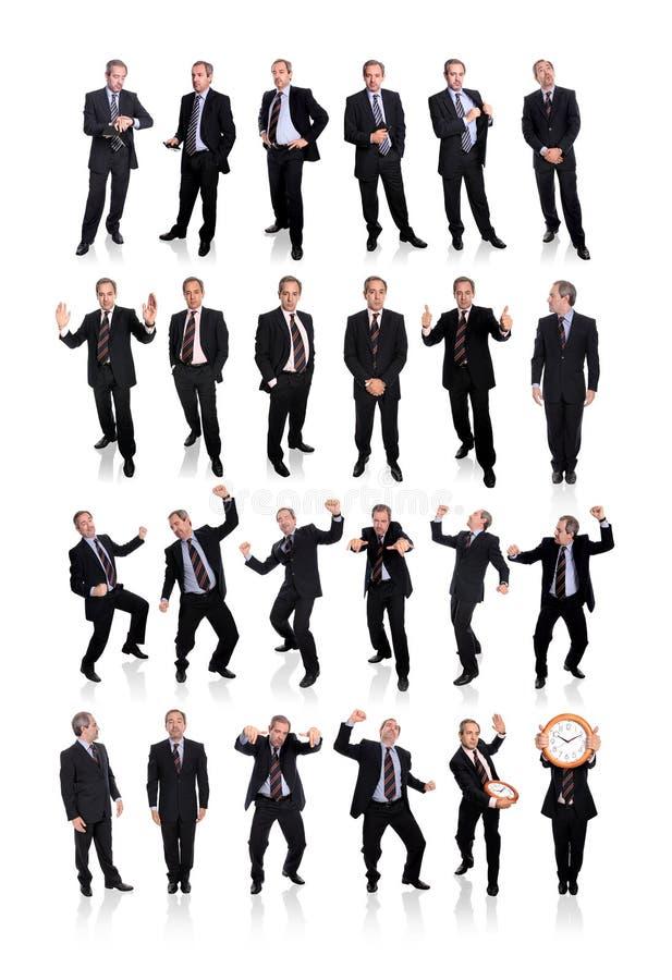 Gruppo di uomini di affari immagini stock libere da diritti