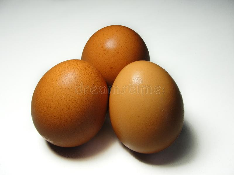 Gruppo di uova fotografia stock