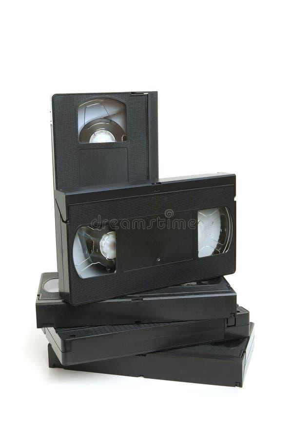 Gruppo di video vassoio fotografia stock libera da diritti