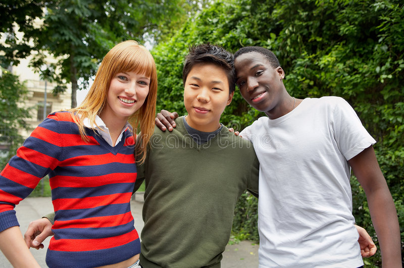 Gruppo etnico immagini stock