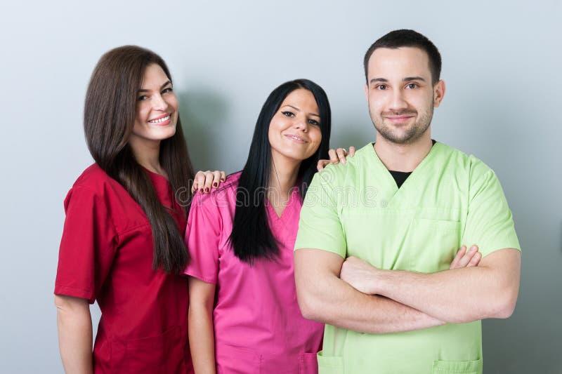 Gruppo medico o dentario fotografie stock