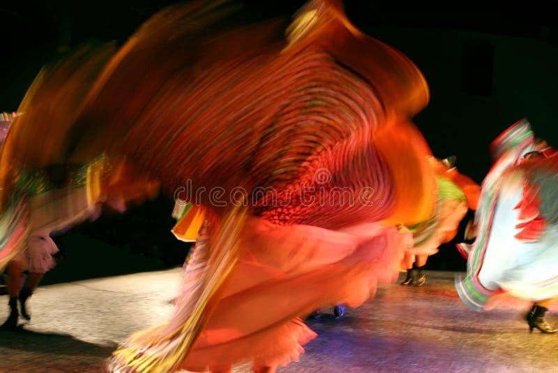 Gruppo messicano di ballo fotografie stock libere da diritti