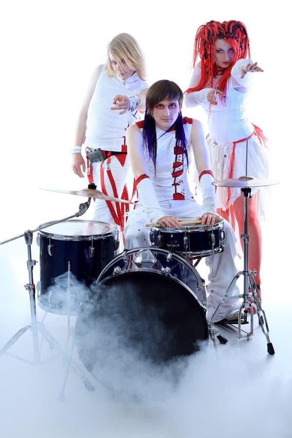 Gruppo musicale fotografia stock libera da diritti