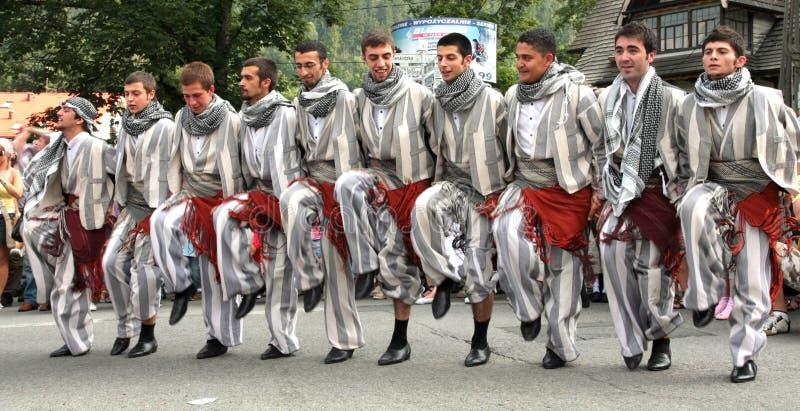 Gruppo piega tradizionale della Turchia immagine stock
