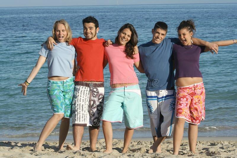 gruppo sorridente immagini stock libere da diritti