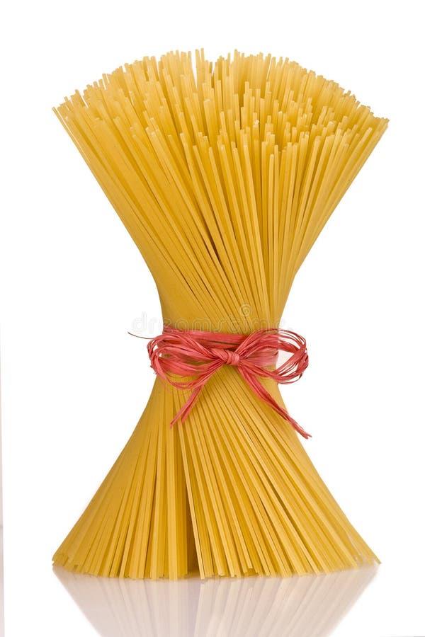 gruppspagetti arkivbild