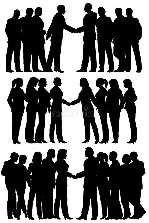 grupy biznesowe ilustracja wektor