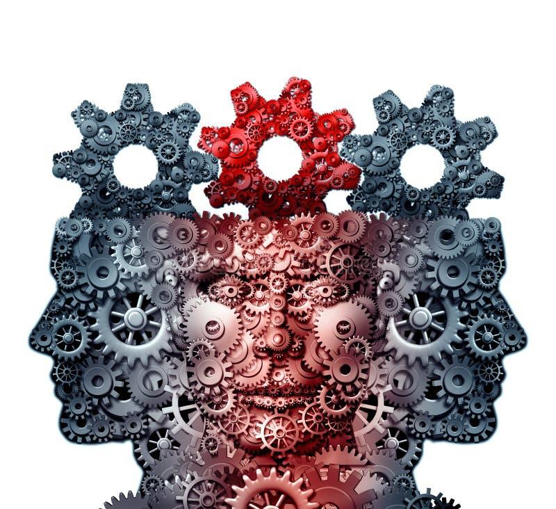 Grupy Biznesowej inteligencja ilustracja wektor