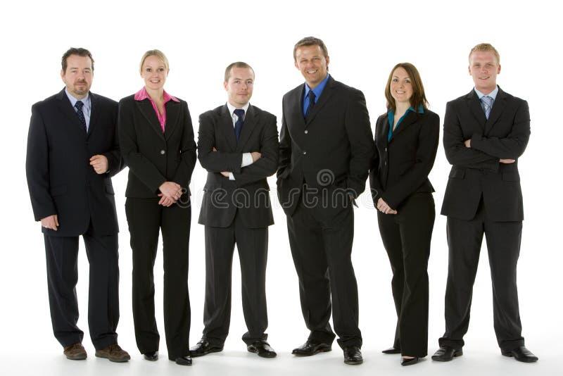 grupy biznesowej linia ludzie target1036_1_ zdjęcia stock