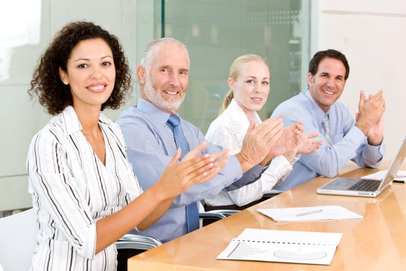 grupy biznesowej spotkanie obraz royalty free