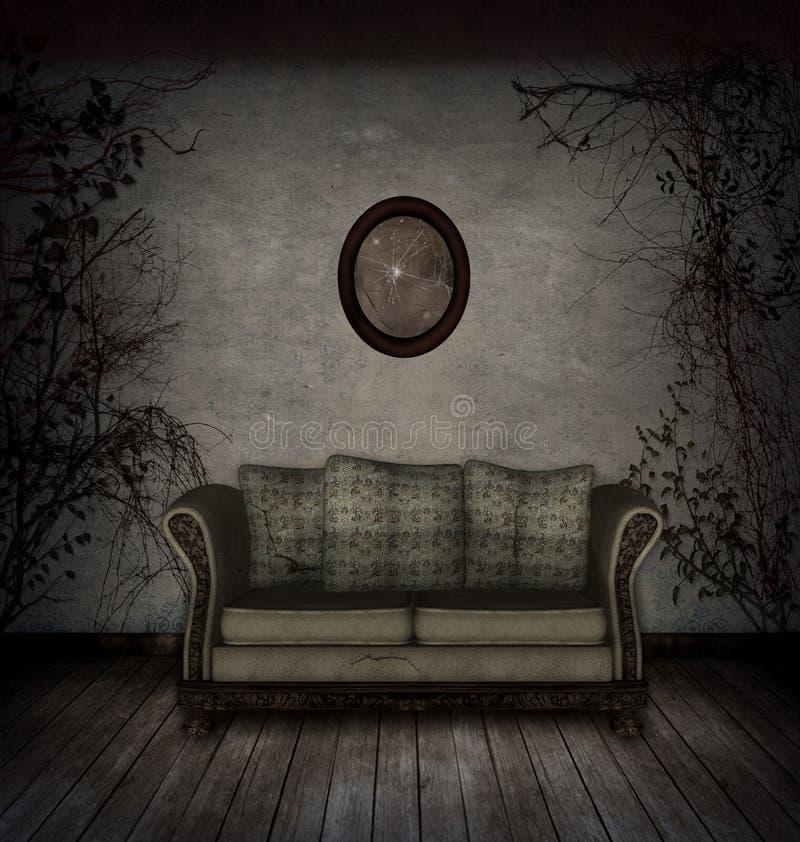 Gruseliger Raum