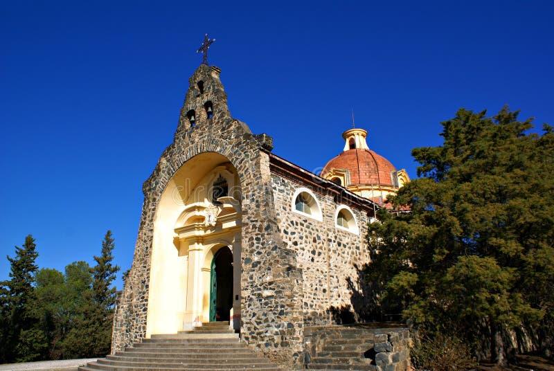 Gruta de Lourdes i Alta Gracia royaltyfri fotografi