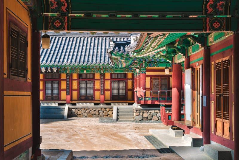 Gruta de Seokguram imagen de archivo libre de regalías