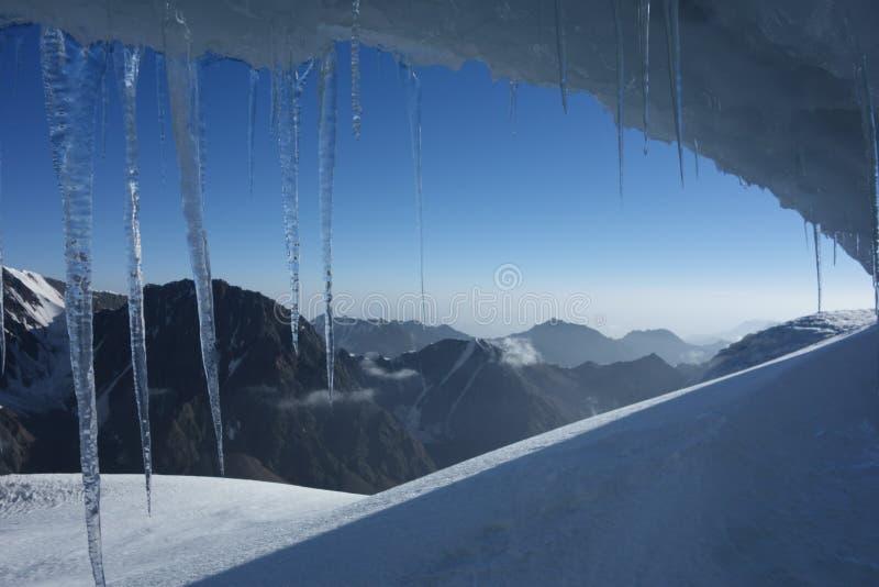 Gruta del hielo fotografía de archivo