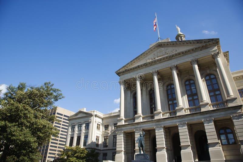 Gruzja Capitol Budynek fotografia royalty free