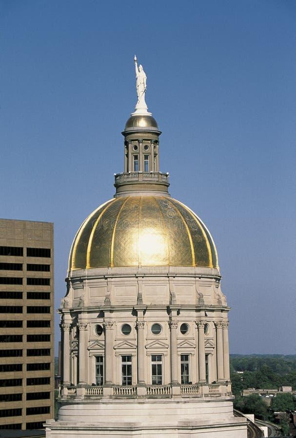 Gruzja Stan Capitol Budynek zdjęcie royalty free
