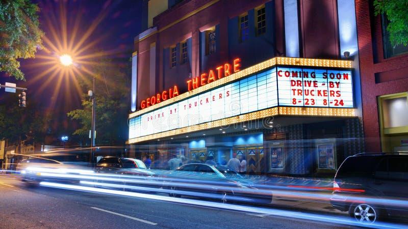 Gruzja Theatre zdjęcie royalty free