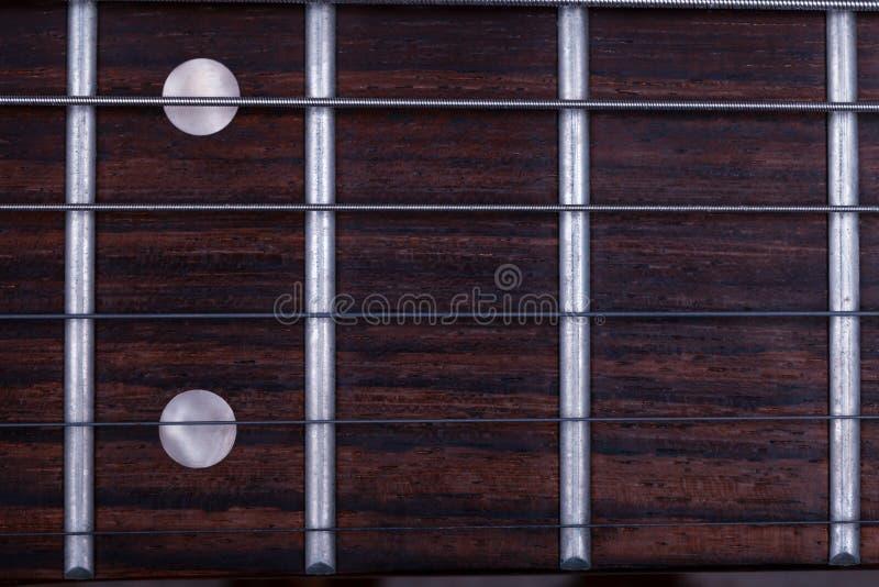 Gryźć maszt gitara elektryczna zdjęcia royalty free