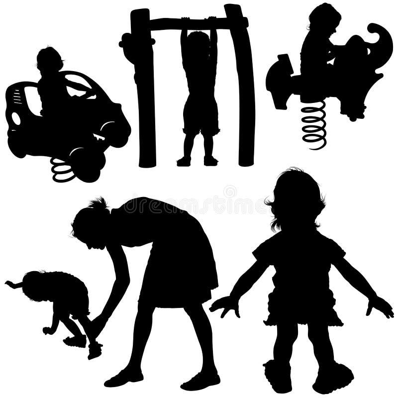 gry dla dzieci royalty ilustracja