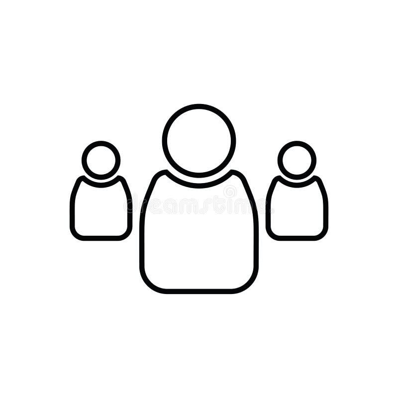 Gry planszowa ikona Element sport dla mobilnego poj?cia i sieci apps ikony Kontur, cienka kreskowa ikona dla strona internetowa p ilustracji