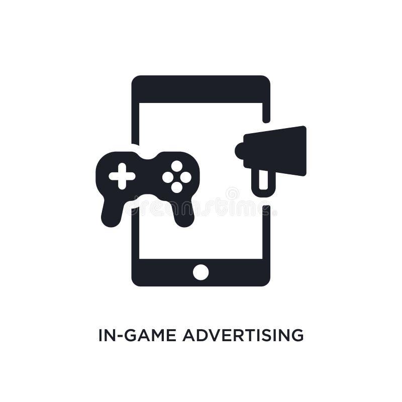 gry reklamy odosobniona ikona prosta element ilustracja od general-1 pojęcia ikon gra reklamuje editable logo ilustracja wektor